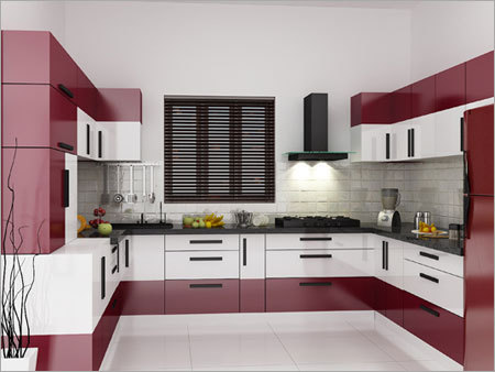 L Shape Modular Kitchen Installation Hyderabad Interior Designers